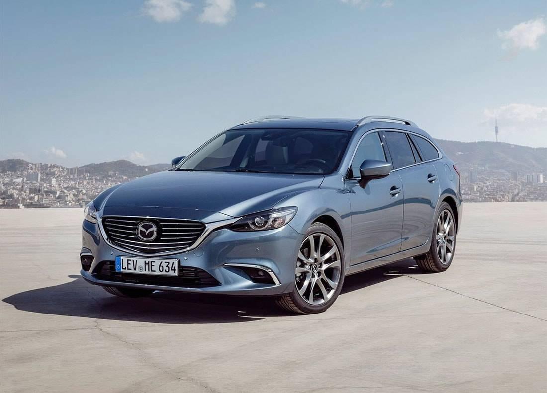 фото универсал Mazda 6 2017-2018 года