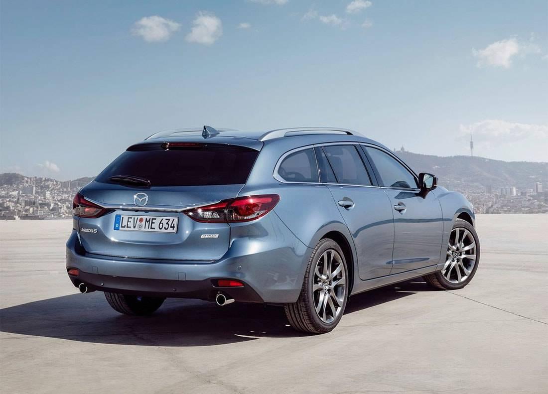 картинки универсал Mazda 6 2017-2018 года
