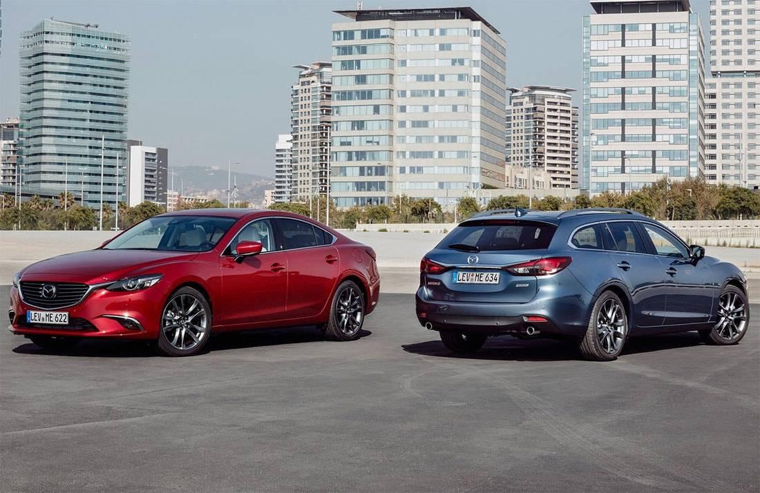 обновленная Mazda 6 2017-2018 года