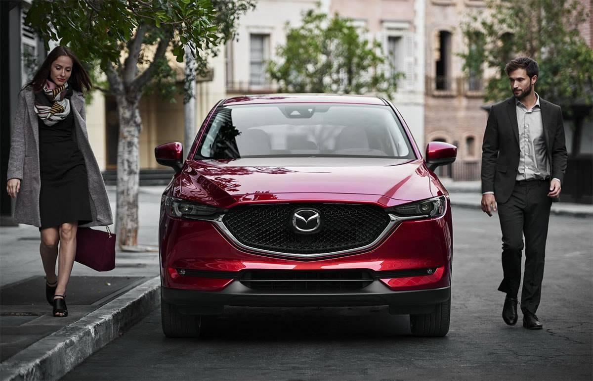 фото кроссовера Mazda CX-5 2017-2018