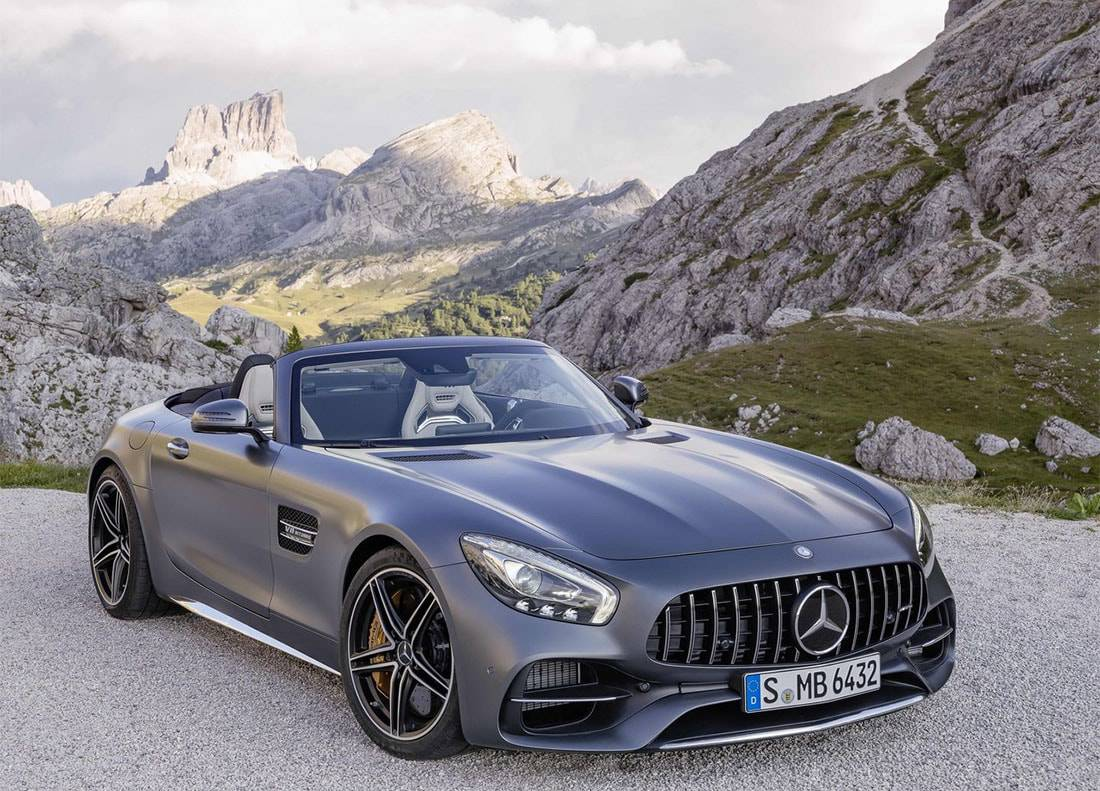 фото нового Mercedes-AMG GT C Roadster