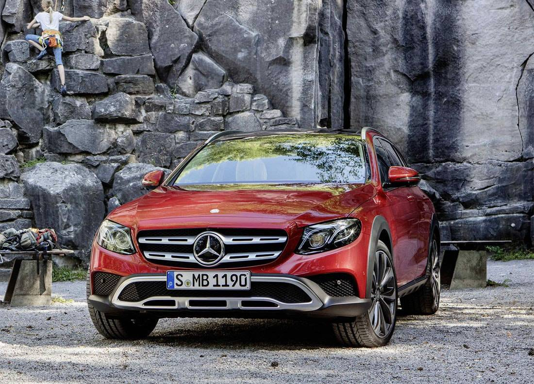 фото Mercedes-Benz E-Class All-Terrain вид спереди