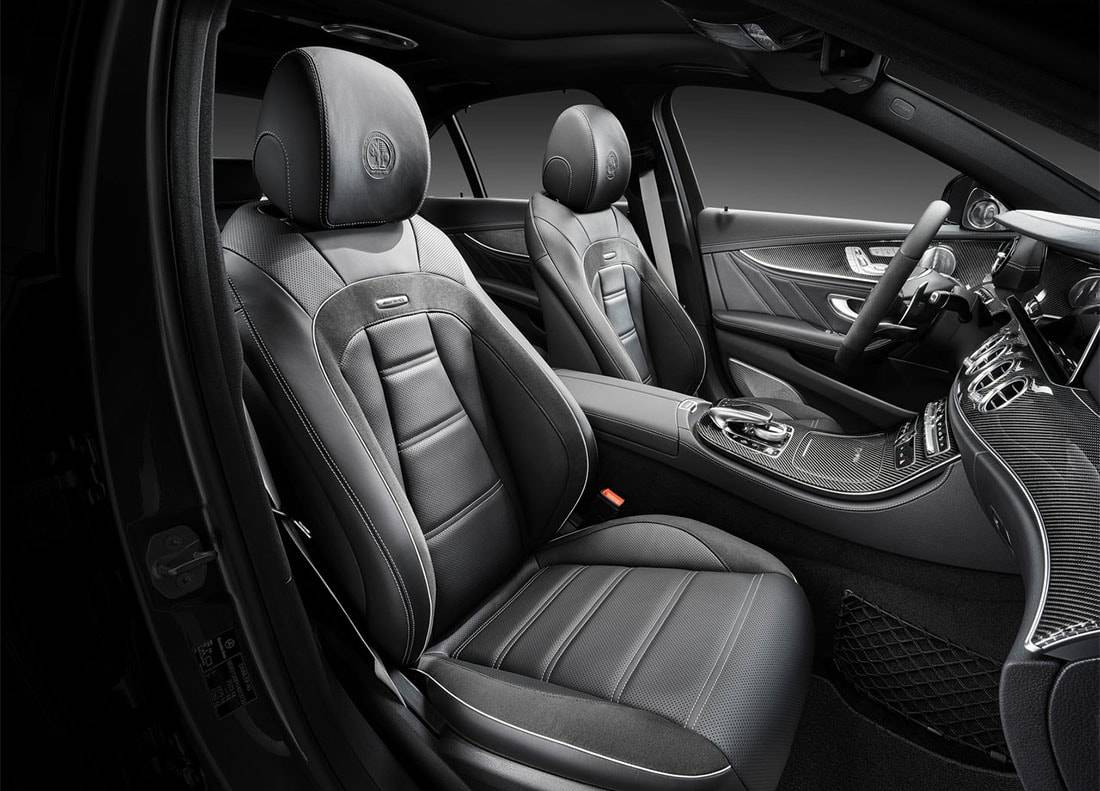 фото салона Mercedes-AMG E63 2017-2018 года