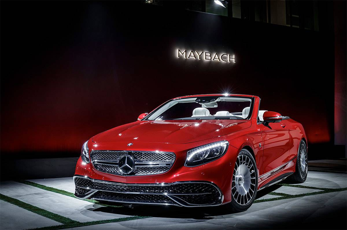 фото Mercedes-Maybach S650 Cabriolet 2017-2018 года
