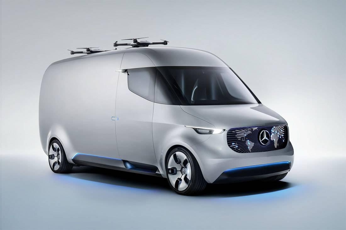 фото Mercedes Vision Van Concept
