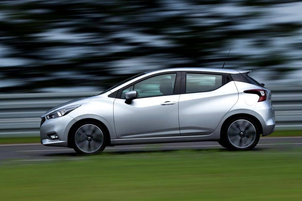 картинки Nissan Micra 2017-2018 года