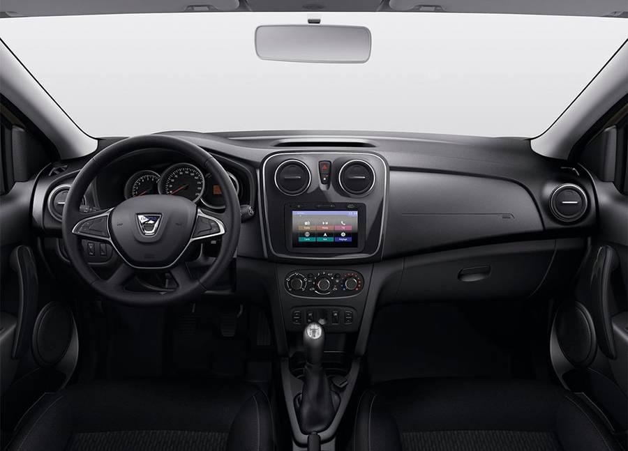 фото салона Renault-Dacia Sandero 2017-2018 года