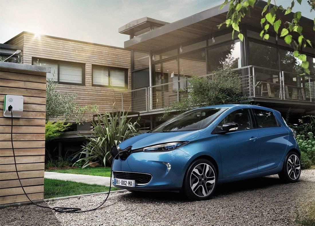 фото электрокара Renault Zoe 2017-2018 года