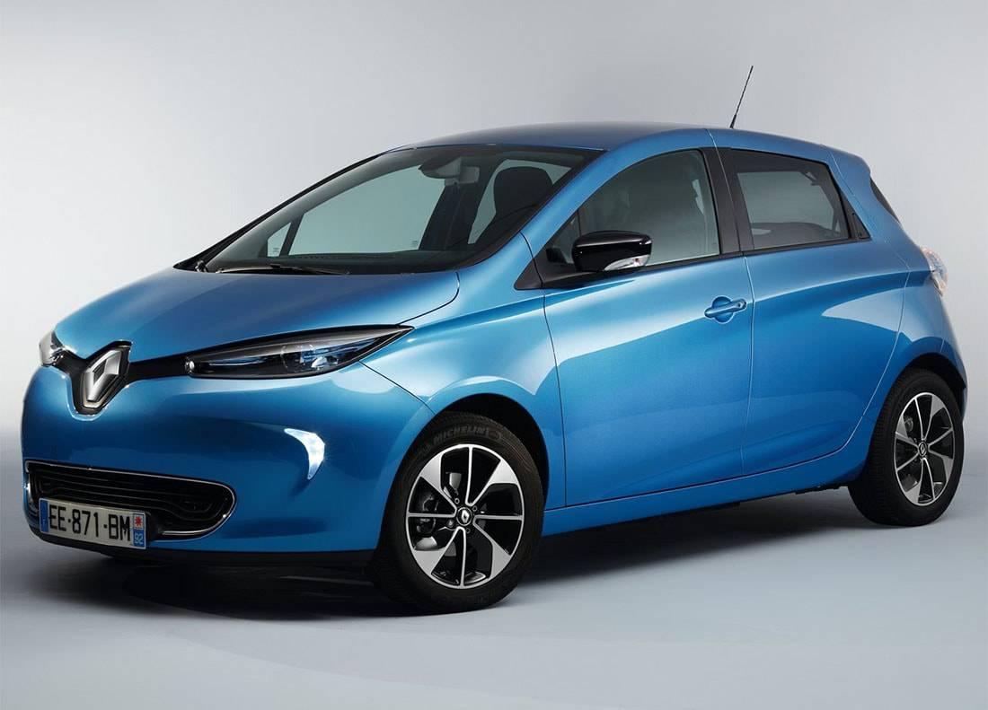 фото Renault Zoe 2017-2018 года вид спереди
