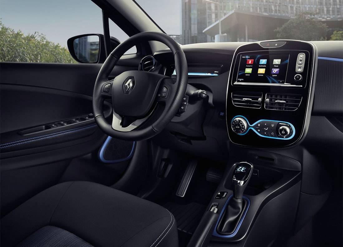 фото салона Renault Zoe 2017-2018 года