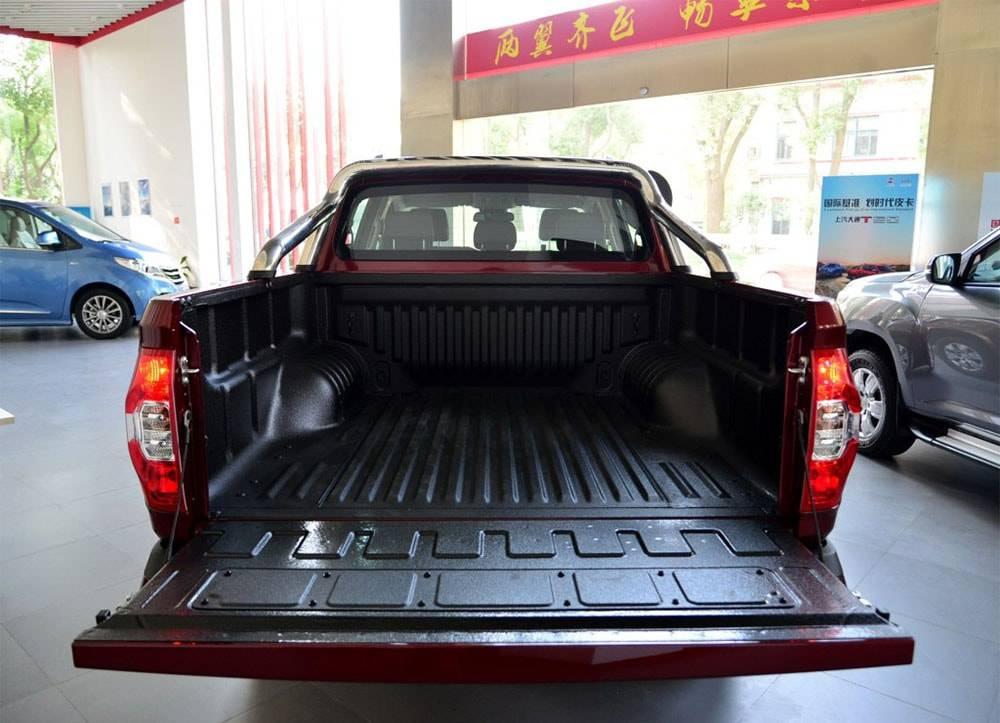 фото грузовой платформы SAIC Maxus T60 2017-2018 года
