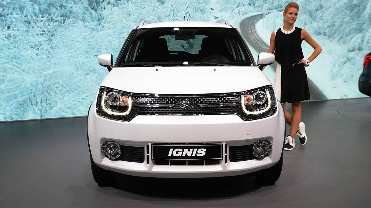фото Suzuki Ignis 2017-2018 года вид спереди