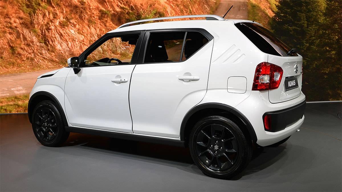 фото картинки Suzuki Ignis 2017-2018 года