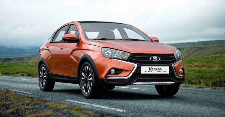Фото Концепта Lada Vesta Cross Sedan 2016-2017 года