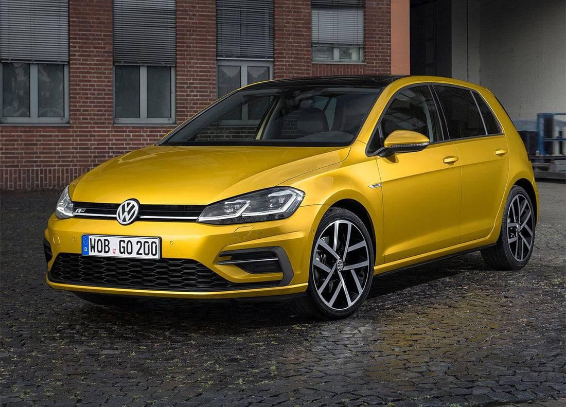 фото Volkswagen Golf 7 вид спереди