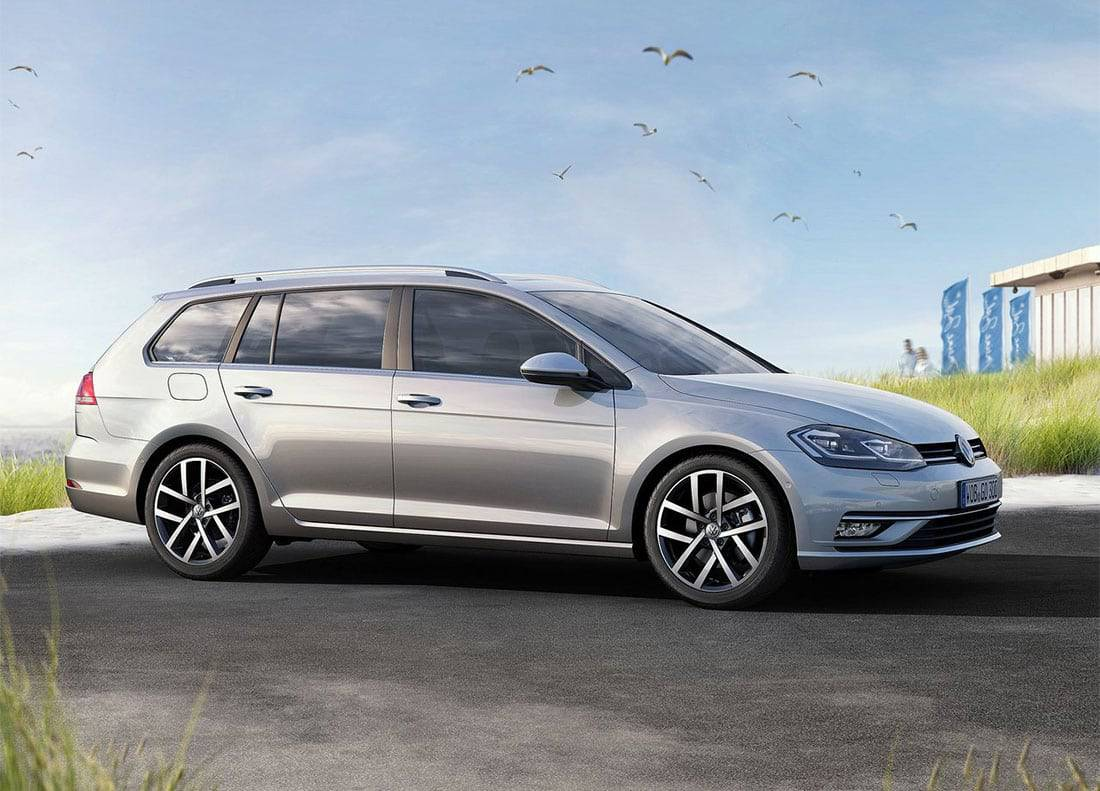 фото Volkswagen Golf Variant 2017-2018 года