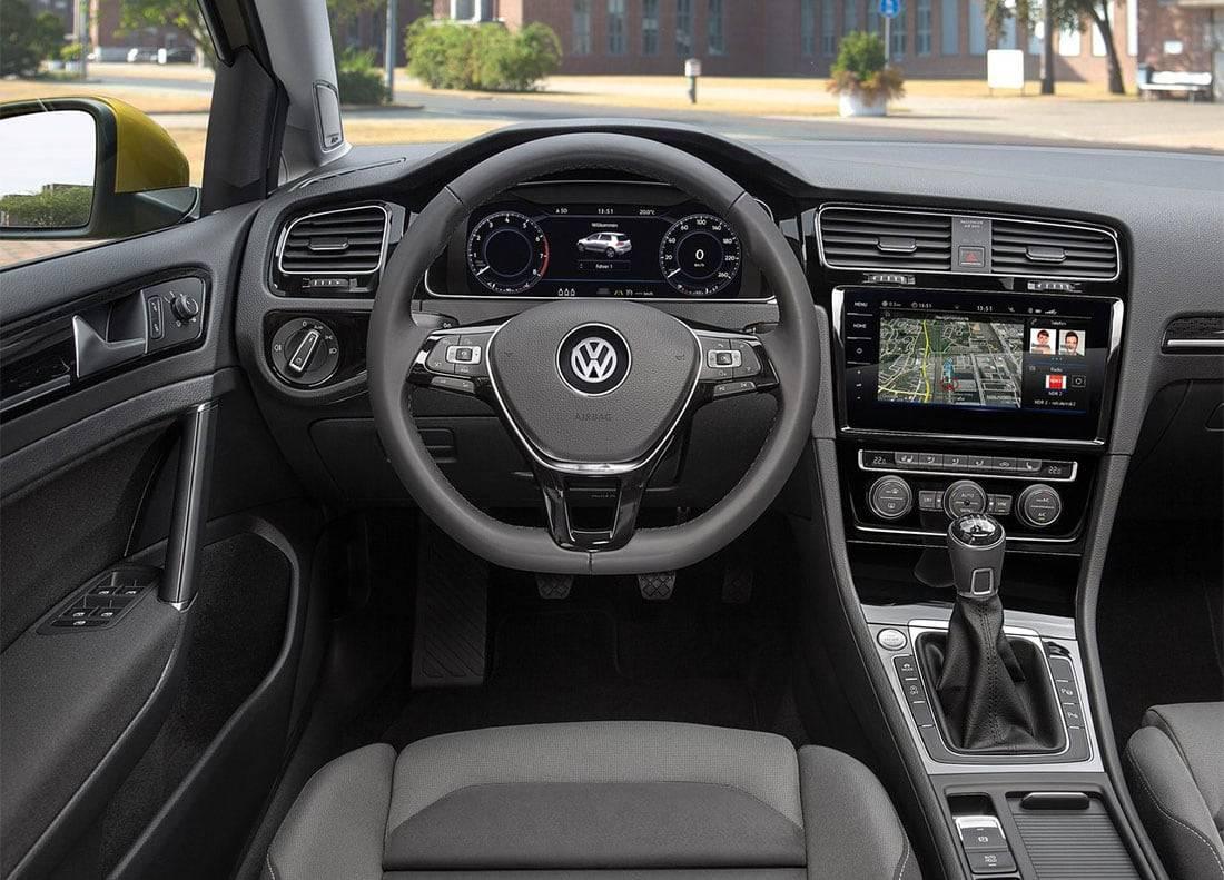 фото салона Volkswagen Golf 7 2017-2018 года
