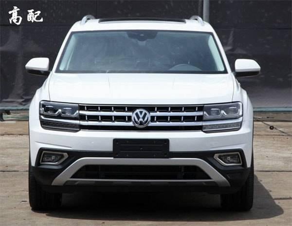 фото Volkswagen Teramont 2017-2018 вид спереди