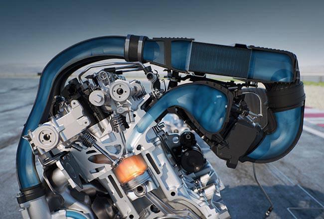 Система впрыска воды Bosch фото