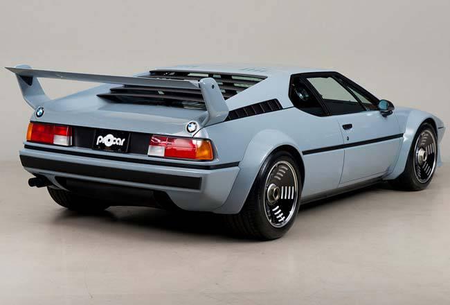 картинки BMW M1 Procar 1979 года