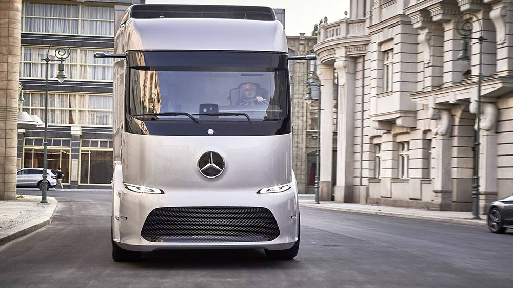 картинки Mercedes-Benz Urban eTruck 2016