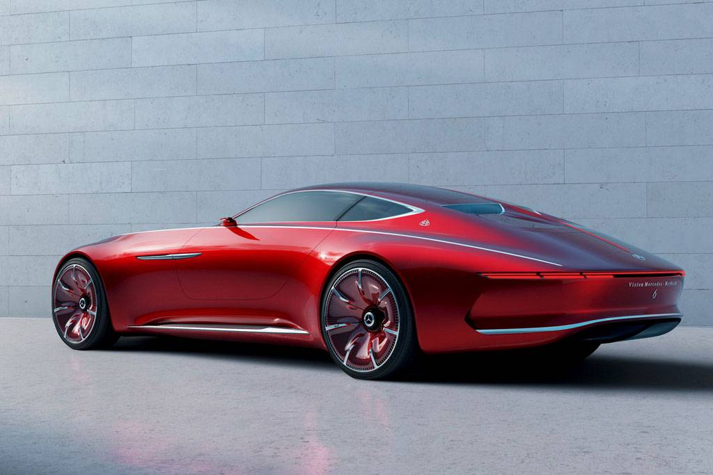фоткартинки Vision Mercedes-Maybach 6 Concept вид сзади