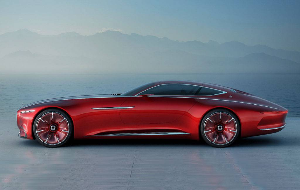 фото Vision Mercedes-Maybach 6 Concept