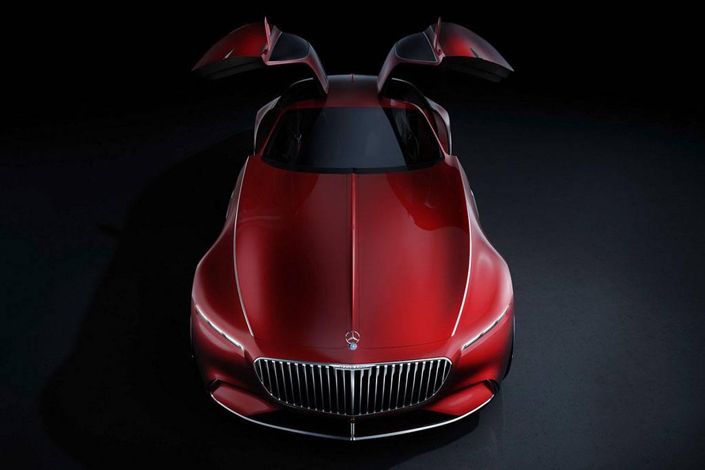 фото Vision Mercedes-Maybach 6 Concept вид сверху
