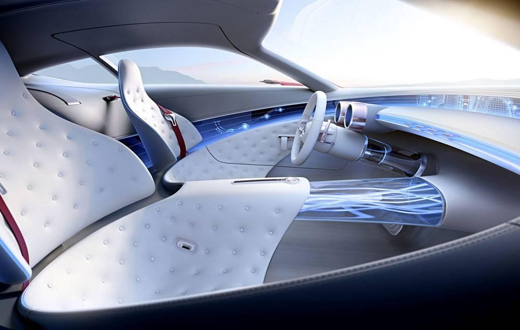 картинки интерьера Vision Mercedes-Maybach 6 Concept