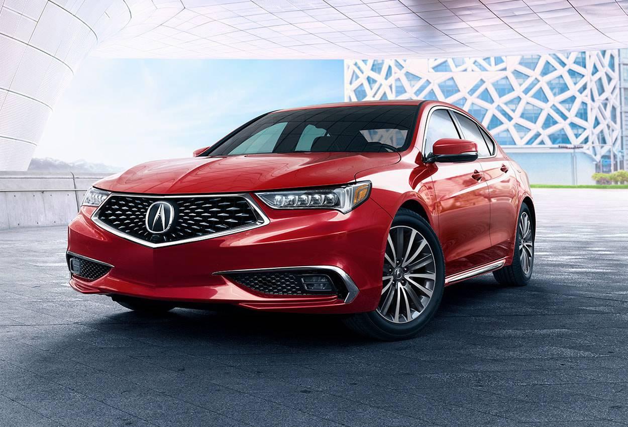картинки Acura TLX 2018-2019 года вид спереди