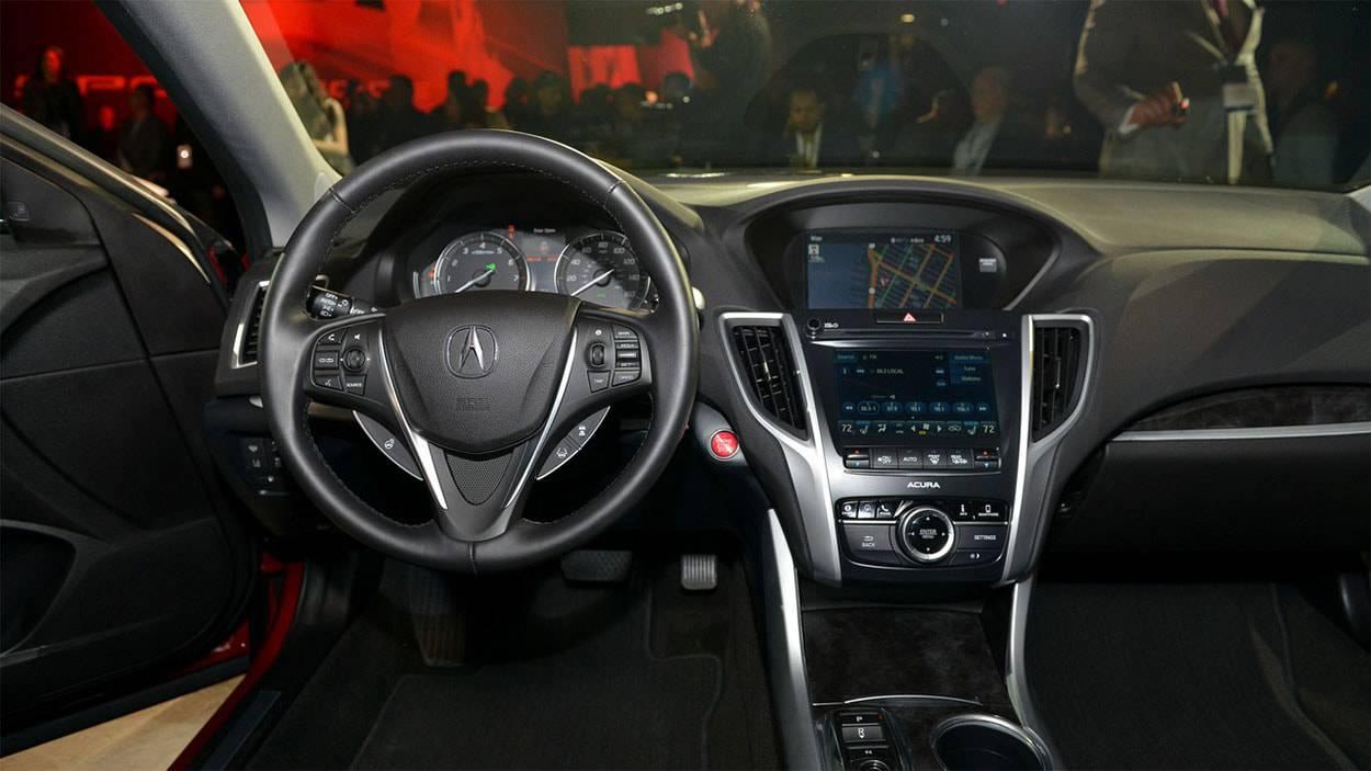фото салона Acura TLX 2018-2019 года