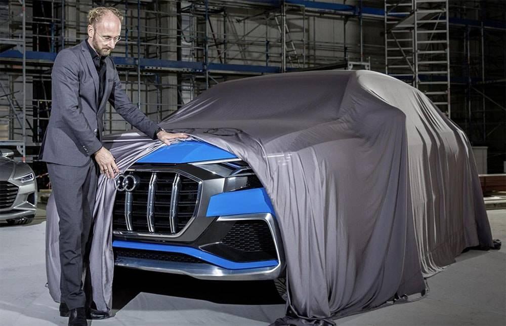 фото Audi Q8 E-tron Concept 2017 года