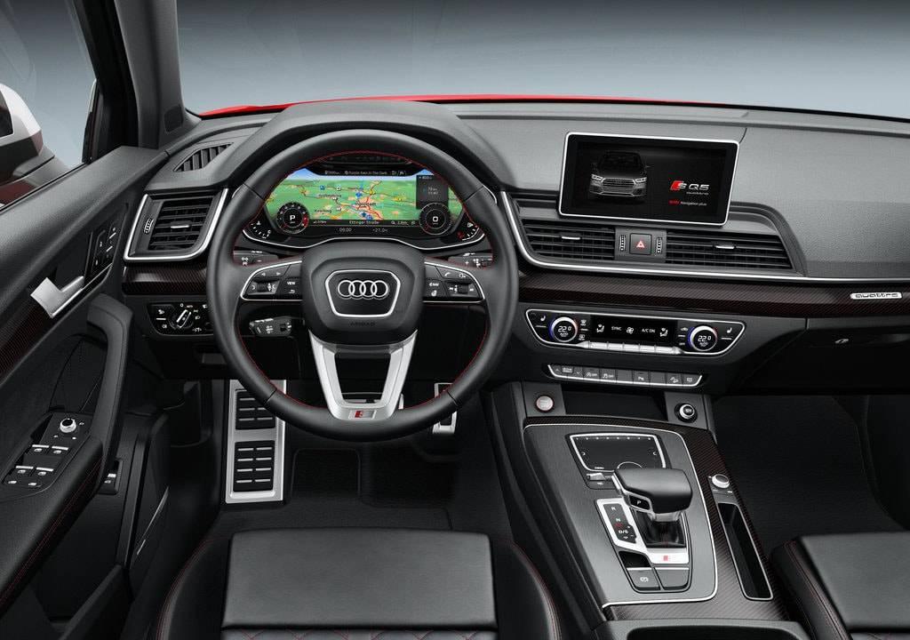 фото салона Audi SQ5 2017-2018