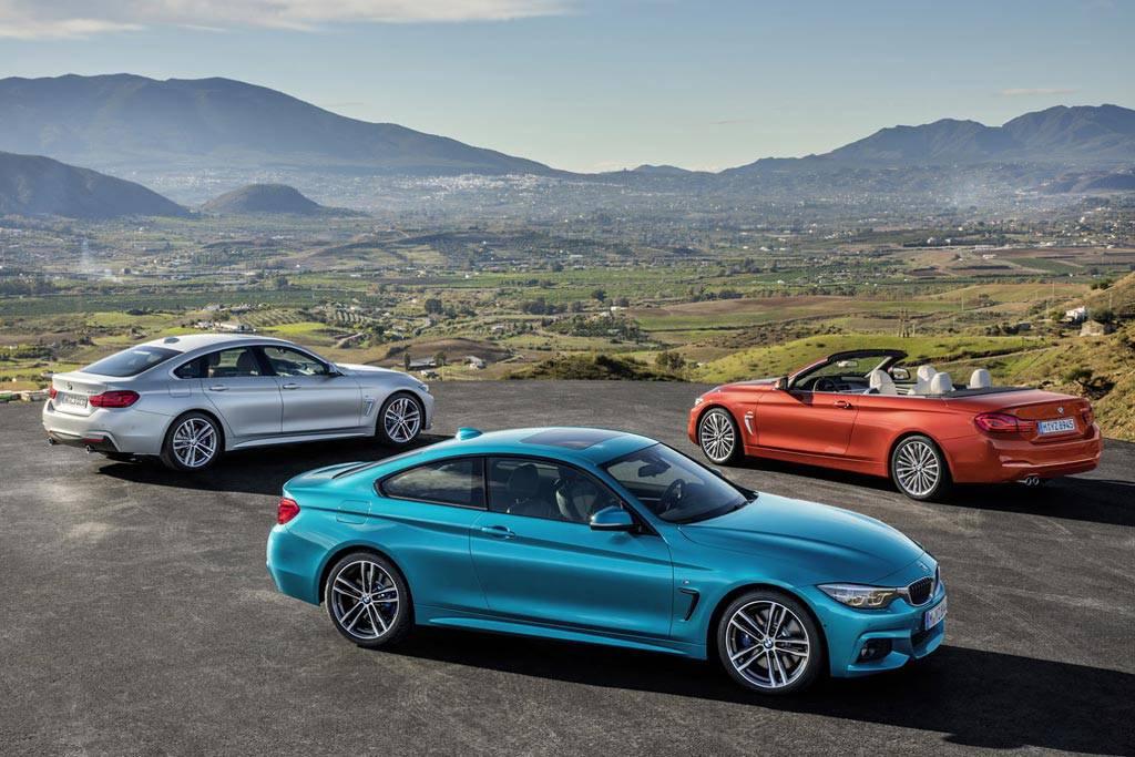 фото обновленных BMW 4-Series 2017-2018 года