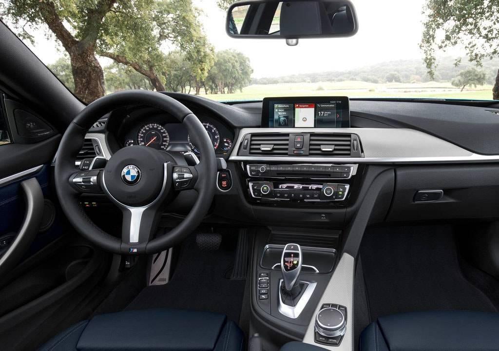фото салона BMW 4-Series  2017-2018 года