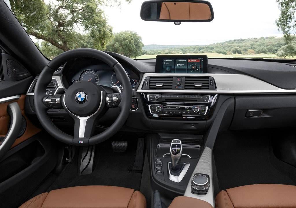 фото интерьера BMW 4-Series  2017-2018 года