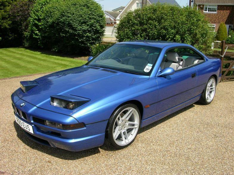 фото оригинальной BMW 8 Series (Е31) 1989-1999 года выпуска