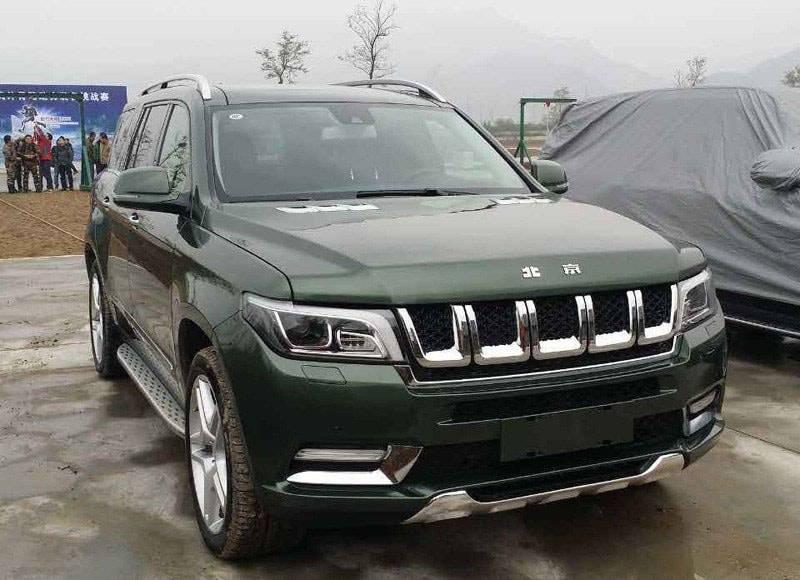 фото китайского внедорожника Beijing Auto BJ90