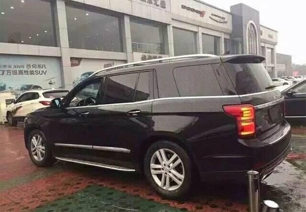 картинки Beijing Auto BJ90 2017-2018
