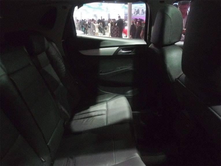картинки интерьера Borgward BX5 2017-2018 года