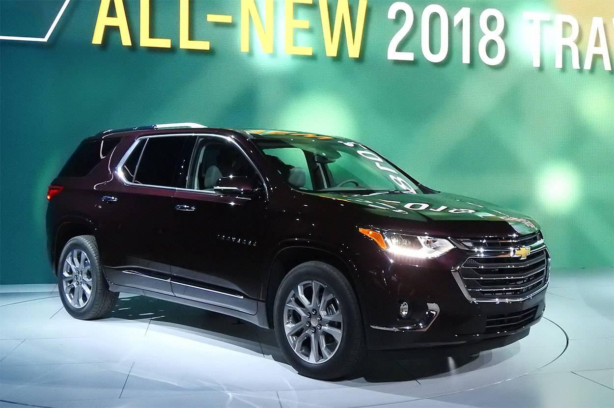 фото New Chevrolet Traverse 2017-2018