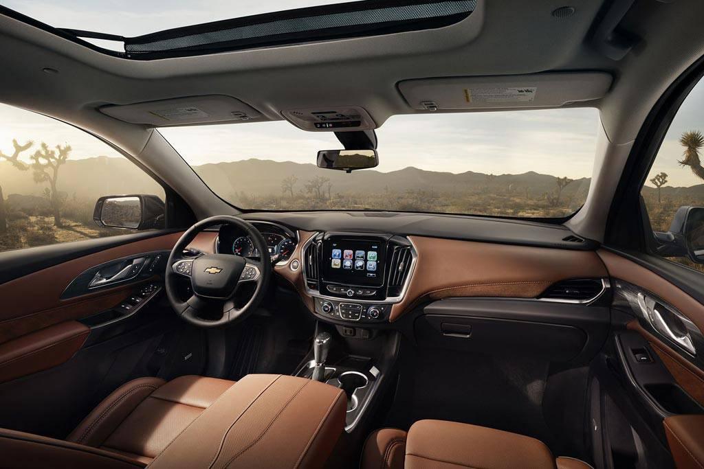 фото салона Chevrolet Traverse 2017-2018