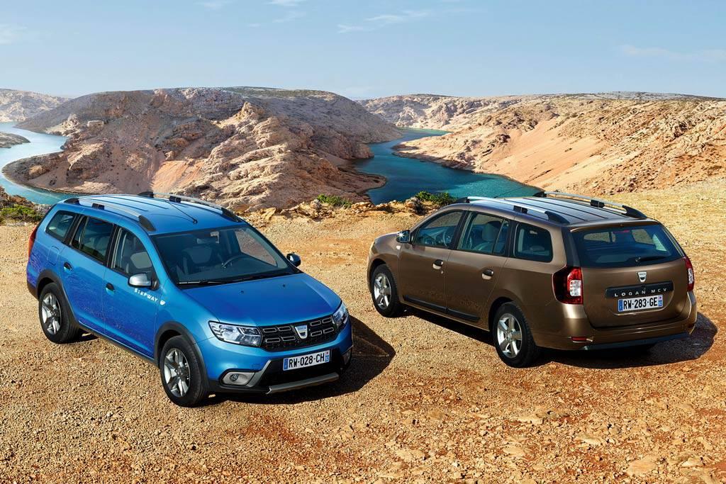 Dacia Logan MCV Stepway – новый универсал с кроссоверным обвесом