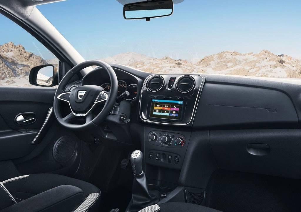 фото салона Dacia Logan MCV Stepway 2017-2018 года