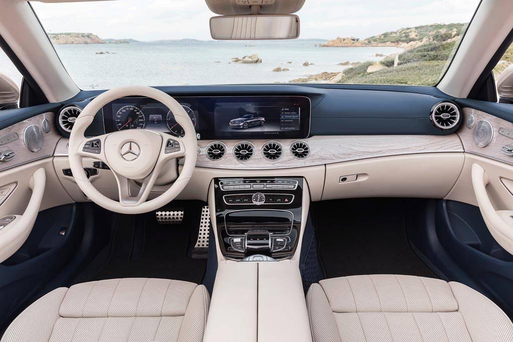 фото салона Mercedes E-Class в кузове Cabriolet A238 2017-2018 года