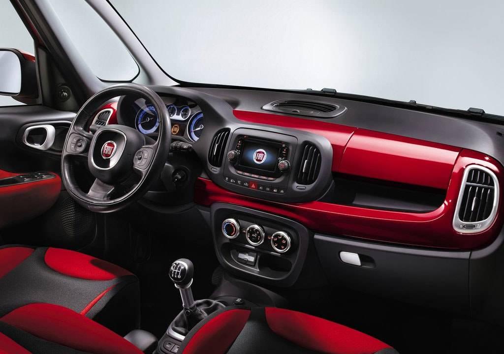 фото салона Fiat 500 L 2017-2018 года