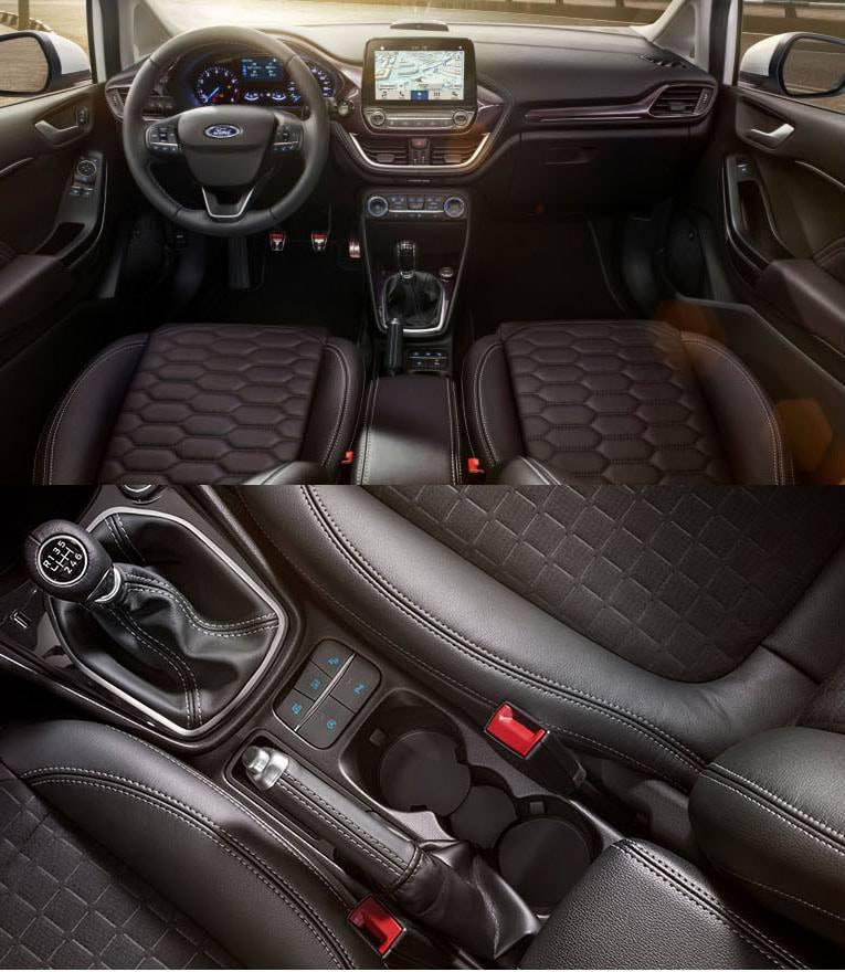 картинки салона Ford Fiesta 2017-2018 года
