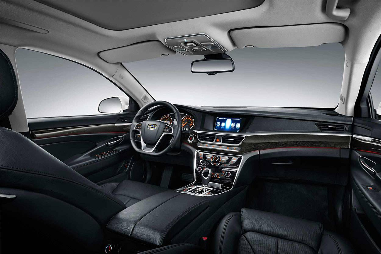 фото салона Geely Emgrand GT 2017-2018 года