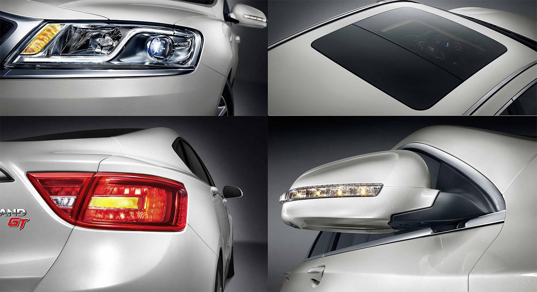 фото элементов кузова Geely Emgrand GT 2017-2018 года