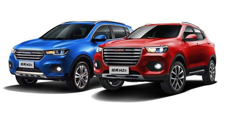 Haval H2 S 2017 - китайский паркетник в двух версиях Blue Label и Red Label